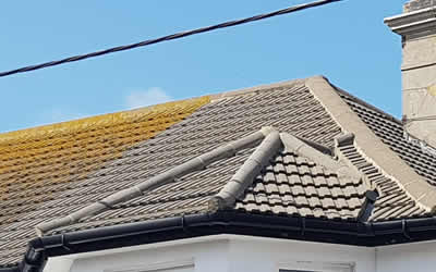 roof cleaning Crowborough