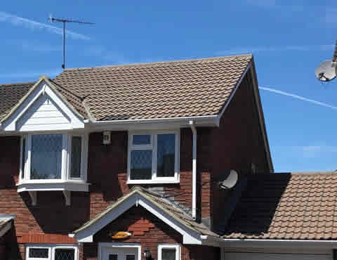 roof cleaning in the East Sussex area