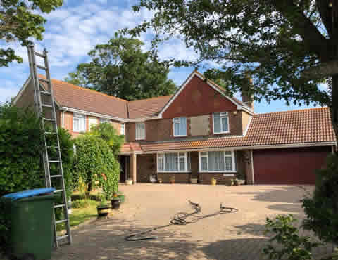 roof cleaning East Sussex