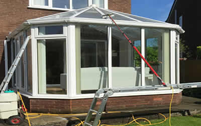 upvc cleaning conservatory cladding and roofline cleaning Crowborough